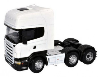 Scania Cab White