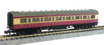 Maunsell BR Composite Coach Crimson/Cream 5142