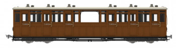 *L&B Open 3rd Coach No.7 1901-1922 (DCC-Fitted)