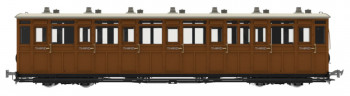 *L&B All 3rd Coach No.11 1901-1922 (DCC-Fitted)