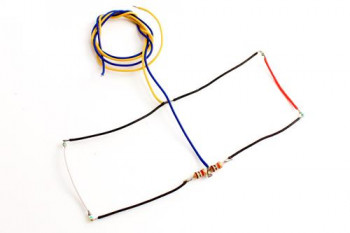 #D# 4 Light NANO Harness Small  (2 Red/2 White)