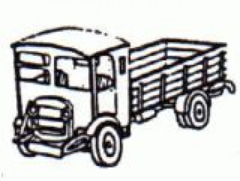 Thornycroft A1 Dropside Lorry (1930-50) Kit