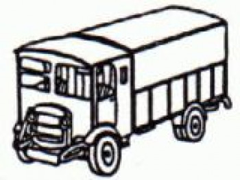 Thornycroft A1 Parcels Van (1930-50) Kit