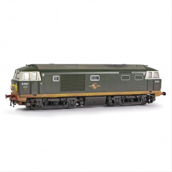 Class 35 D7021 BR Green Small Yellow Panels Weathered