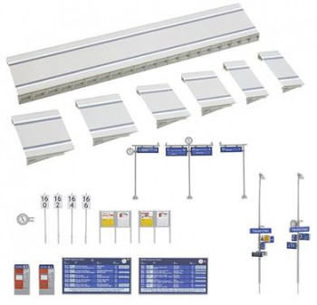 Modern Station Platform & Accessories Kit V