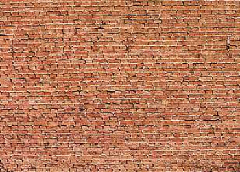 Clinker Brick Wall Card 250x125mm