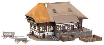 Black Forest Farm w/Thatched Roof Kit