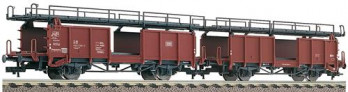 DB Laaes541 Double Deck Car Carrying Wagon Set (2) IV