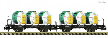 *DB BTs50 Double Container Carrier Wagon IV