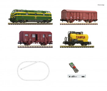 RENFE 340 Diesel Freight Starter Set (DCC-Fitted)