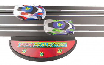 Micro Scalextric Powered Track Piece