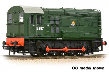 *Class 08 13287 BR Early Green