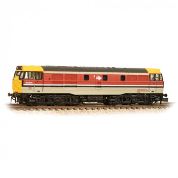 Class 31 97204 BR RTC Grey/Red