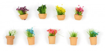 Flowers in Pots Set 2 (9)