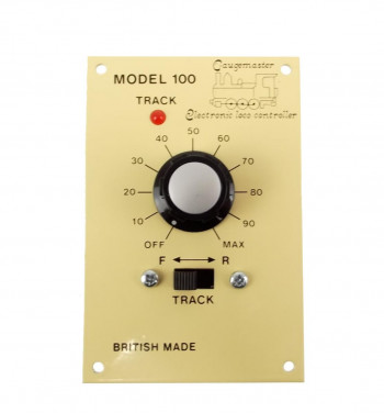 Single Track Panel Mounted Controller for O Scale