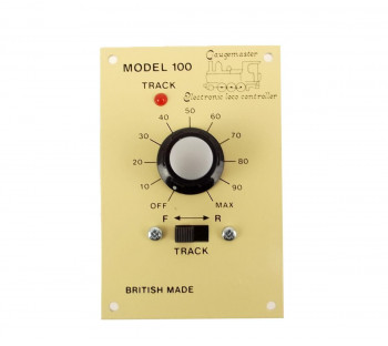 Single Track Panel Mounted Controller for G Scale
