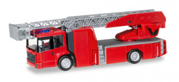 Minikit MB Econic Turntable Ladder Red