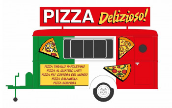 Italian Pizza Catering Trailer
