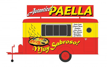 Spanish Paella Catering Trailer
