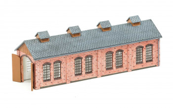 German Oberwiesenthal Engine Shed (Pre-Built)