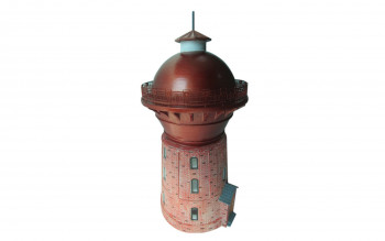 German Cottbus Water Tower (Pre-Built)