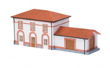 Small Station with Goods Shed (Pre-Built)