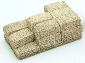 Stack of Hay Bales Rectangular (Pre-Built)