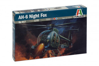 American AH-6 Night Fox Helicopter (1:72 Scale)
