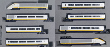 Eurostar Class 373 005/006 Classic 8 Car Powered Set