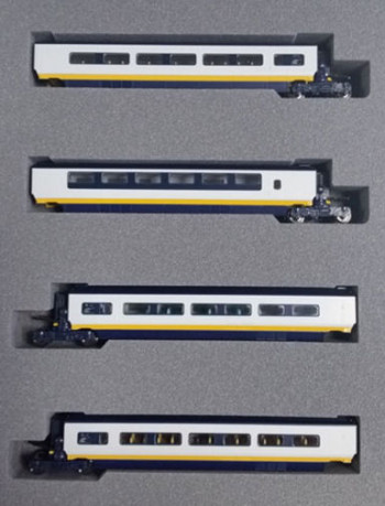 Eurostar Class 373 005/006 Classic Livery 4 Car Add on Set