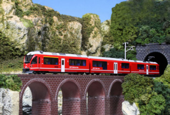 RhB Bernina Express 5 Car Powered Set