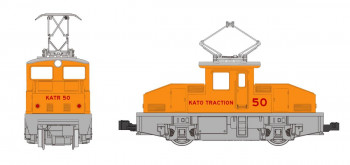 *Steeple Cab Electric Locomotive Kato Traction 50
