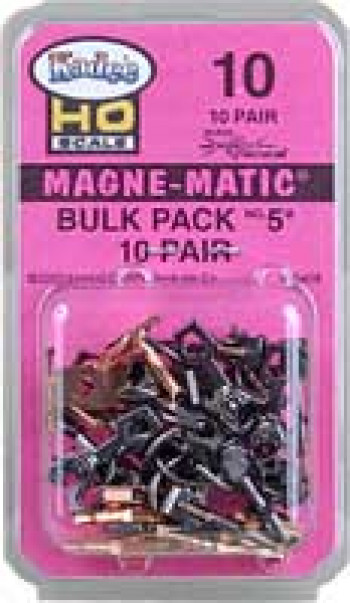 No.5 Bulk Pack Magne-Matic Couplers (10pr)