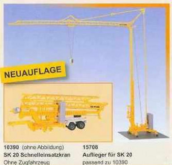 Liebherr SK20 Quick Assembly Crane with Trailer Kit