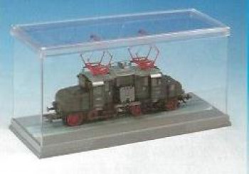 Display Case with Track 19x8x10.5cm