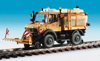 DB Road/Rail Unimog with Spray/Cleaning Device Kit
