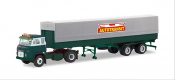 Scania LB76 Tarpaulin Semitrailer Bilspedition