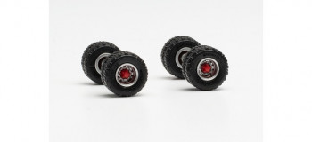 *Wheelsets with 11.00 x 20 Off Road Tyres (2)