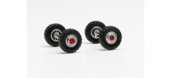 *Front Axles with 11.00 x 20 Off Road Tyres (2)