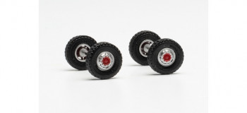 *Front Axles with 11.00 x 20 Road Tyres (2)