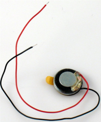 #D# Round Speaker 13mm with Wire Harness