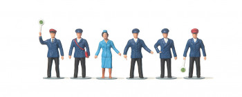 Railway Personnel (6) Figure Set