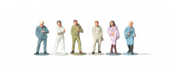 Passers By Standing (6) Figure Set