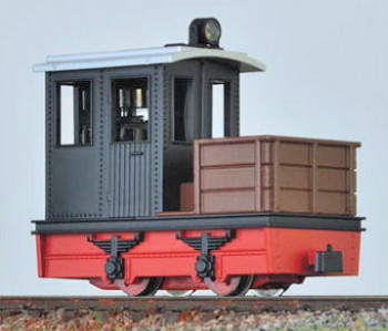 Contractors Loco Black Cab/Red Chassis