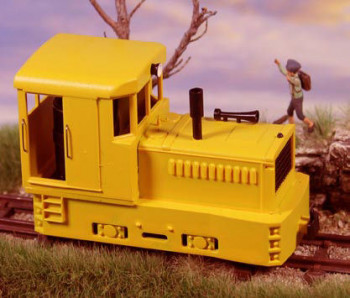 Plymouth Diesel Loco Yellow Body & Chassis
