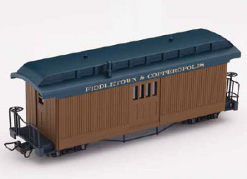 F & C Mail Car Brown with Lettering