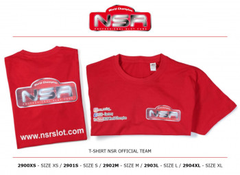 NSR Official Team T Shirt - Size S