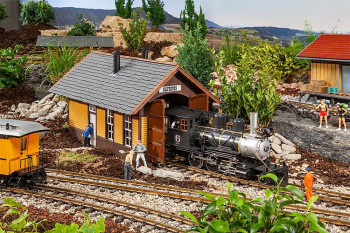Silverton American Engine Shed Kit