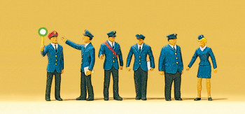 DB Railway Personnel (6) Exclusive Figure Set