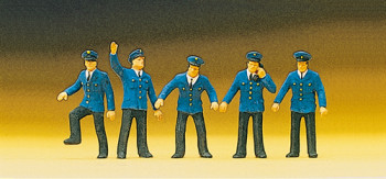 DB Signal Box Workers (5) Exclusive Figure Set